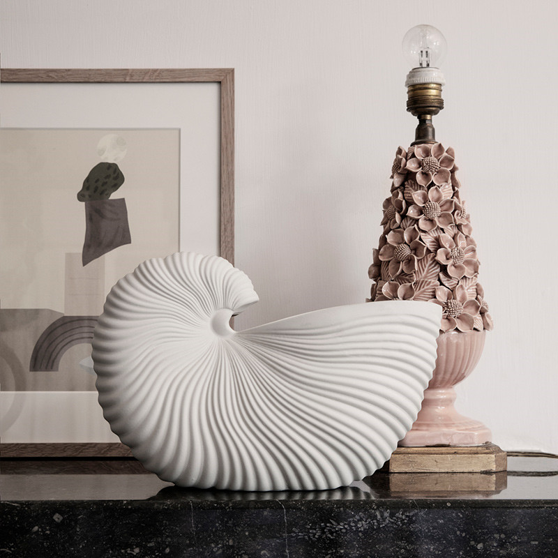 Image of   Ferm Living Shell Pot Off-White