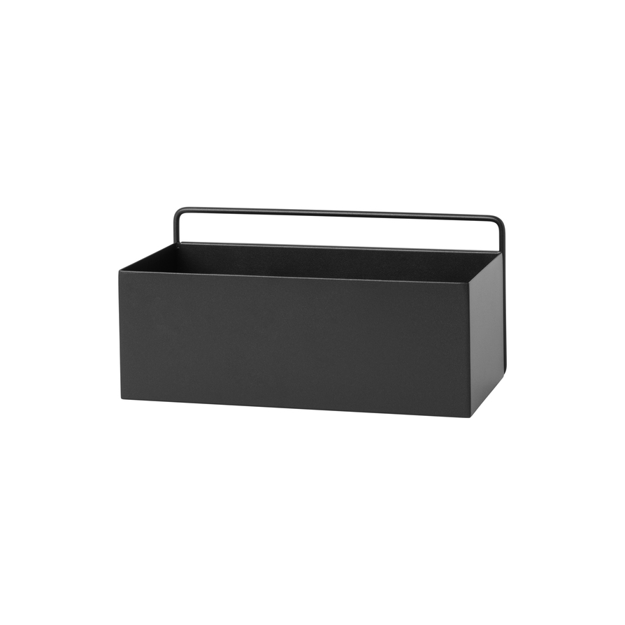 Image of   Ferm Living Wall Box Rectangle Black