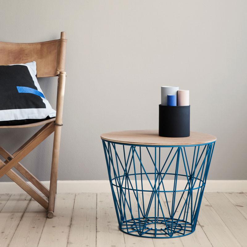 Ferm living wire basket top olieret eg fra Ferm living fra livingshop
