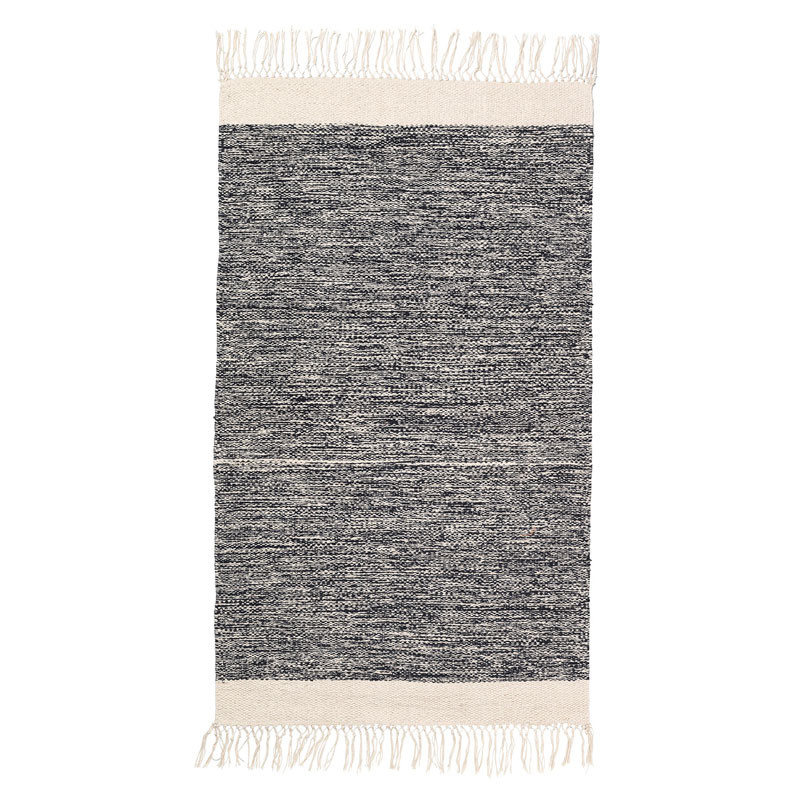 Image of   Ferm Living Melange Rug Black