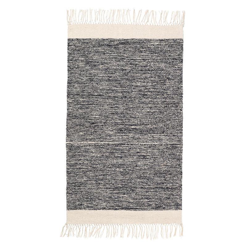 ferm living melange rug black. Black Bedroom Furniture Sets. Home Design Ideas