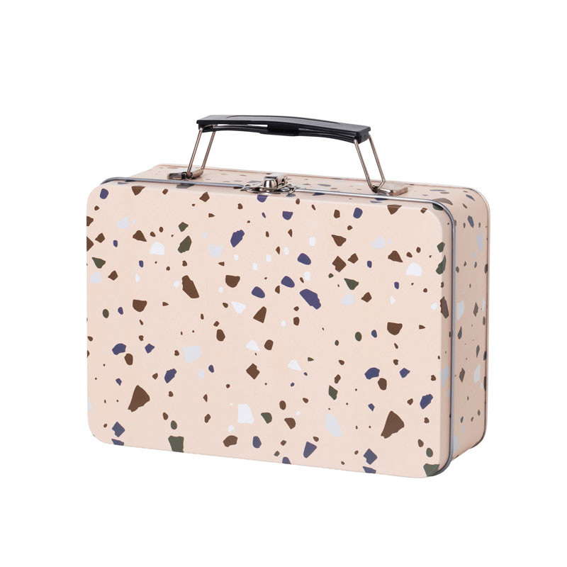 Ferm living terrazzo lunch box rose