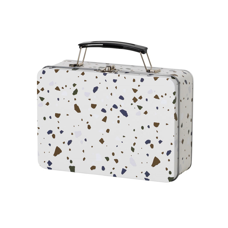 Ferm living terrazzo lunch box grey