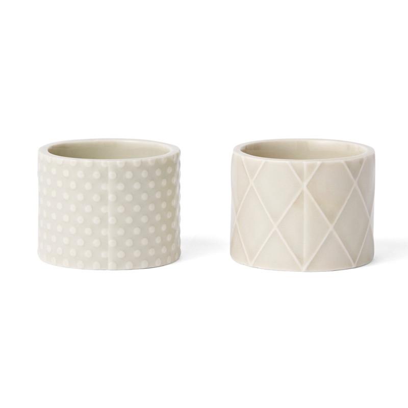 Finnsdottir Finnsdottir pipanella egg cups grey fra livingshop