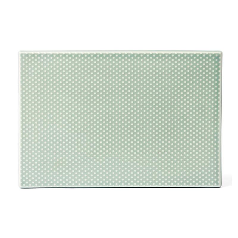 Finnsdottir – Finnsdottir pipanella tile dot celadon fra livingshop