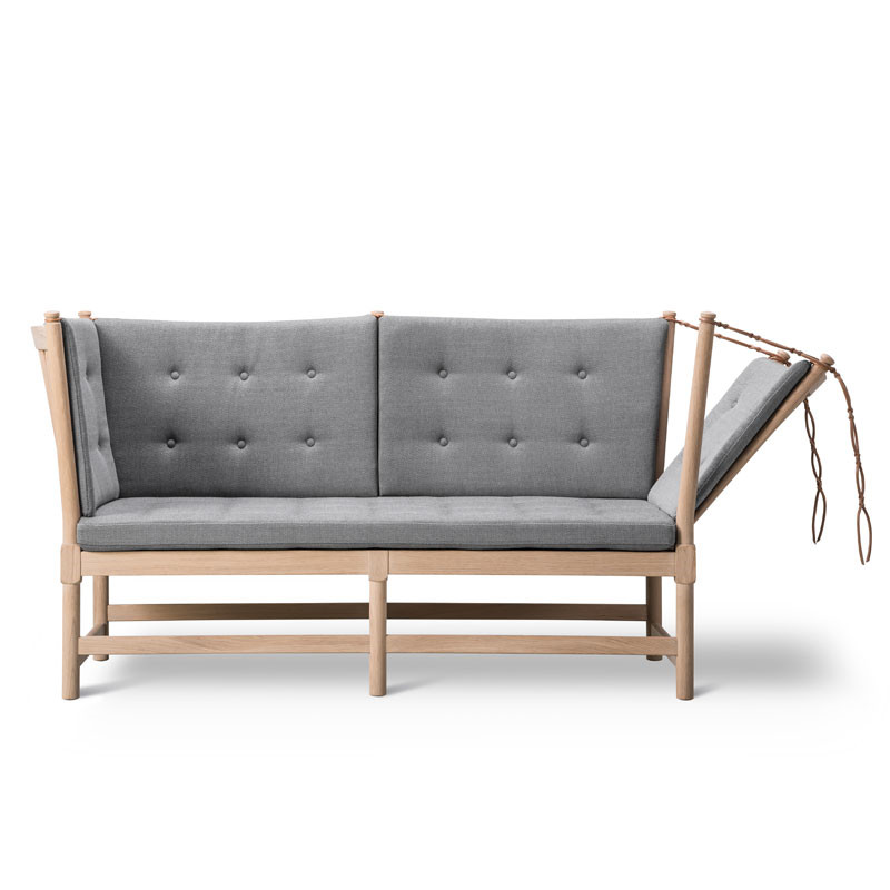 Image of   Fredericia Furniture 1789 Tremmesofa Med Knapper