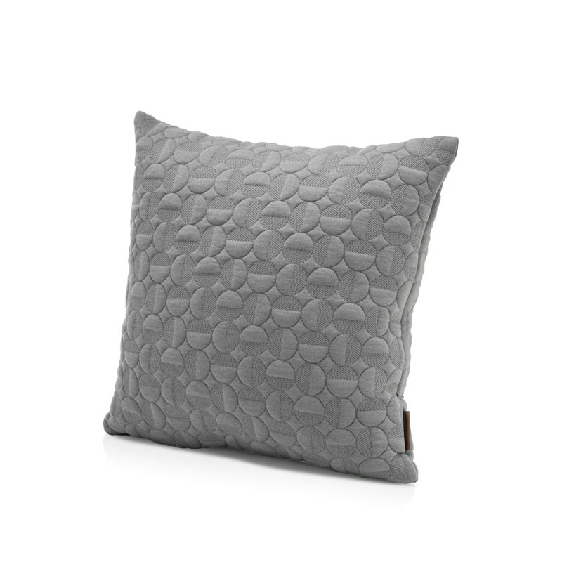 Fritz hansen objects vertigo pillow light grey 50 x 50