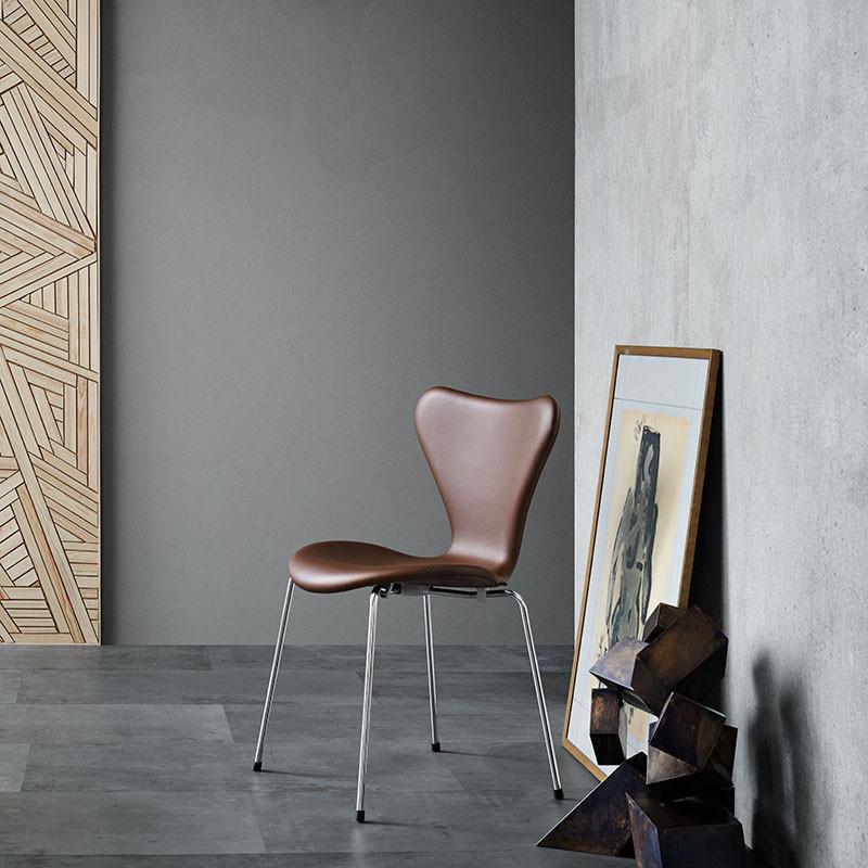 fritz hansen 3107 serie 7 fuldpolstret l der. Black Bedroom Furniture Sets. Home Design Ideas