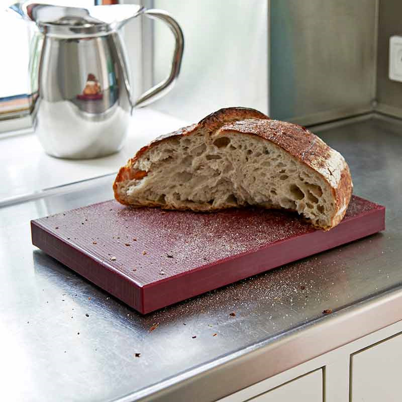 Image of   HAY Chopping Board M Bordeaux