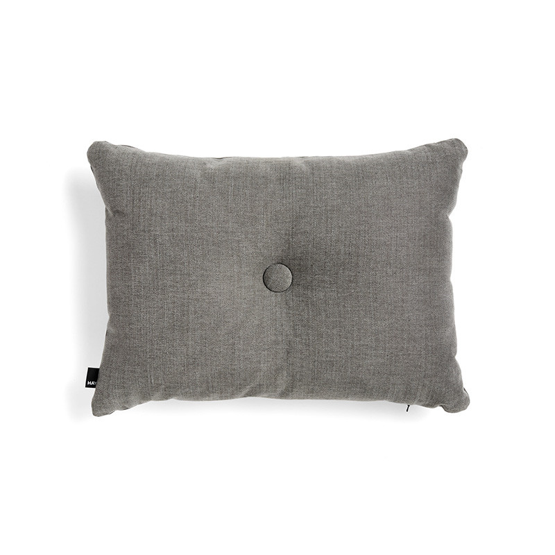 Image of   HAY Dot Cushion Tint 1 Dot Dark Grey