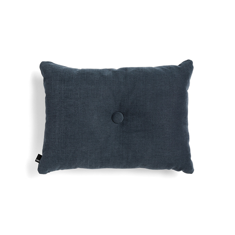 Image of   HAY Dot Cushion Tint 1 Dot Midnight Blue