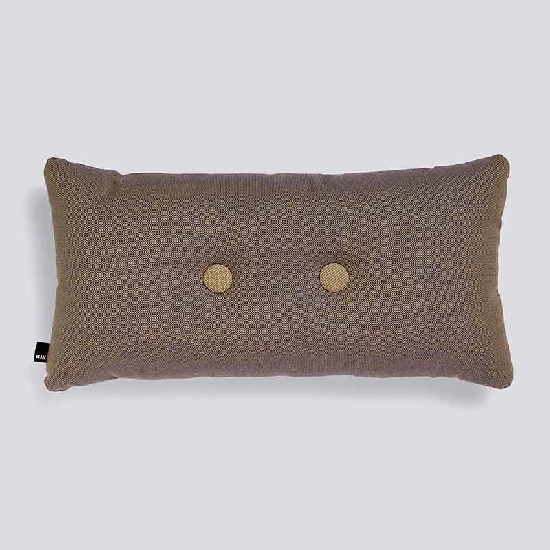 Image of   HAY Dot Cushion Surface 2 Dots Bronze
