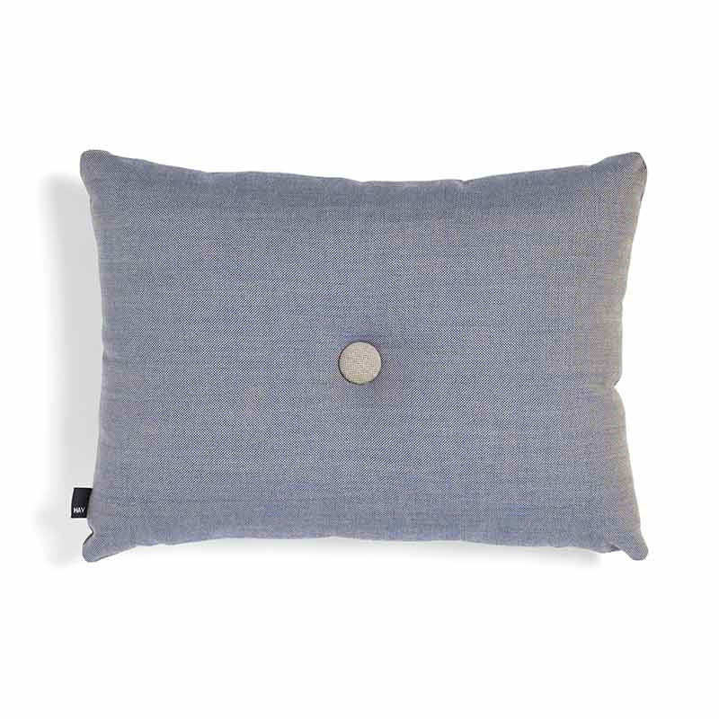 Image of   HAY Dot Cushion Surface 1 Dot Steel Blue
