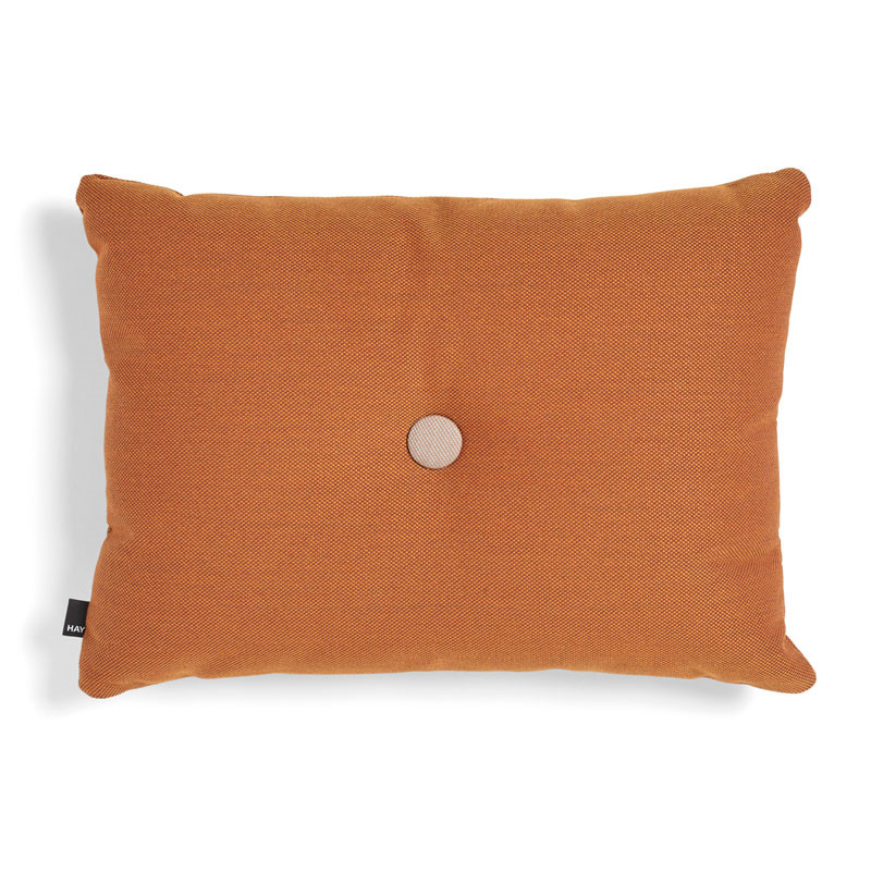 Hay dot cushion st 1 dot orange