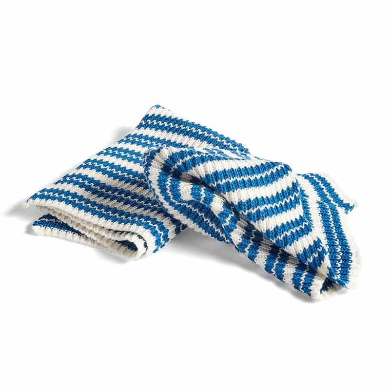 Image of   HAY Kitchen Cloth Set of 2 Blue