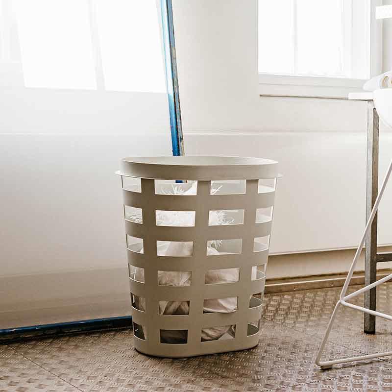 Image of   HAY Laundry Basket L Light Grey
