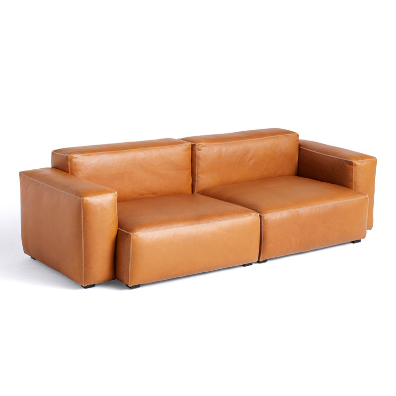 Image of   HAY Mags Soft 2,5 Seater Sofa Combination 1 Silk SIL0250