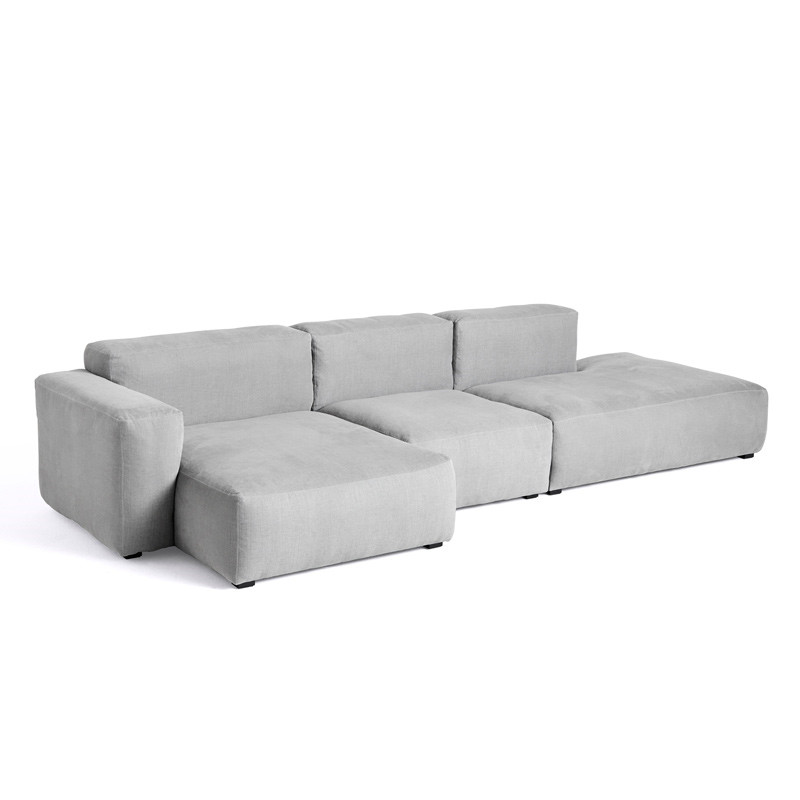 Image of   HAY Mags Soft 3 Seater Sofa Combination 4 Left End