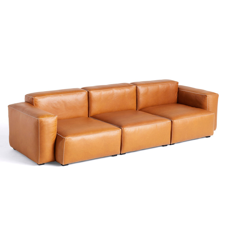 Image of   HAY Mags Soft 3 Seater Sofa Combination 1 Silk SIL0250.