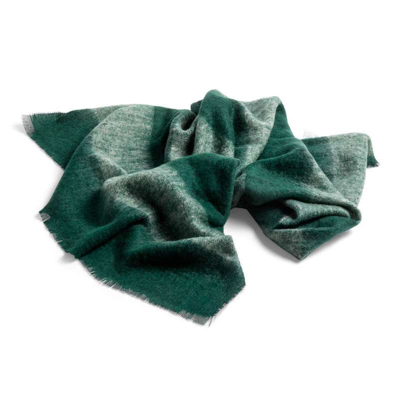 Image of   HAY Mohair Blanket Green