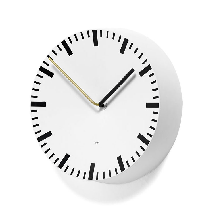 Image of   HAY Analog Clock White