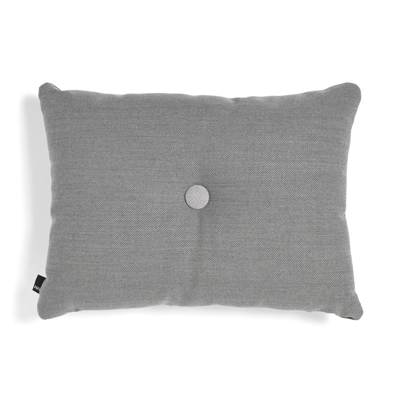 Image of   HAY Dot Cushion ST 1 Dot Dark Grey