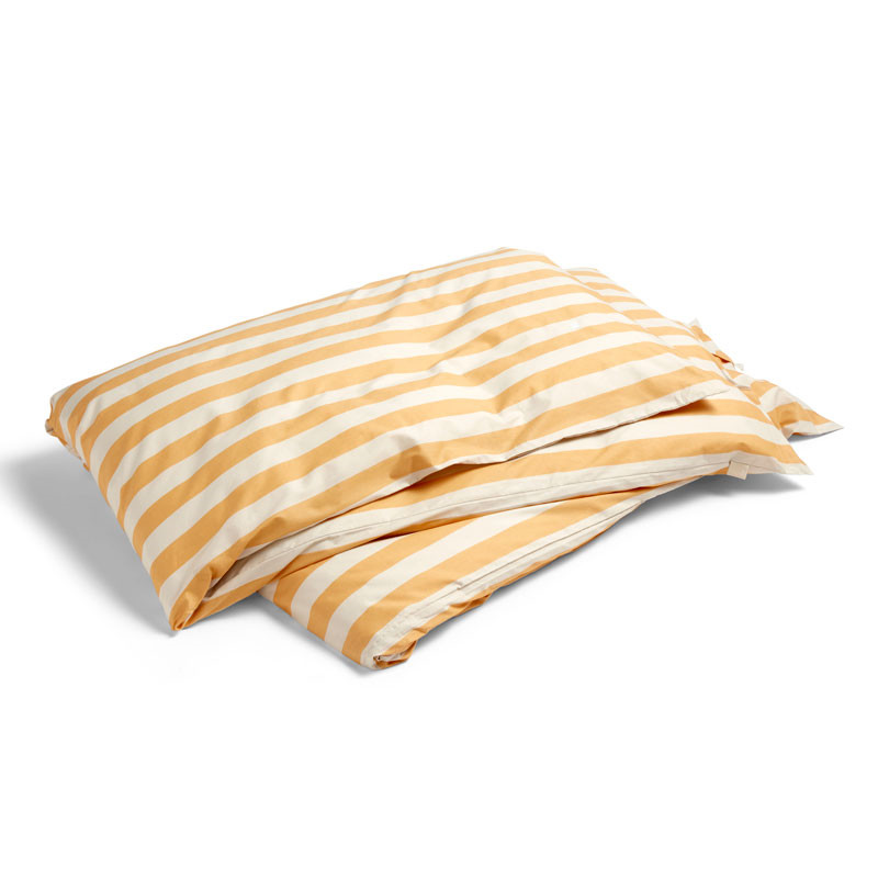 Image of   HAY Été Duvet Cover Warm Yellow 220 cm