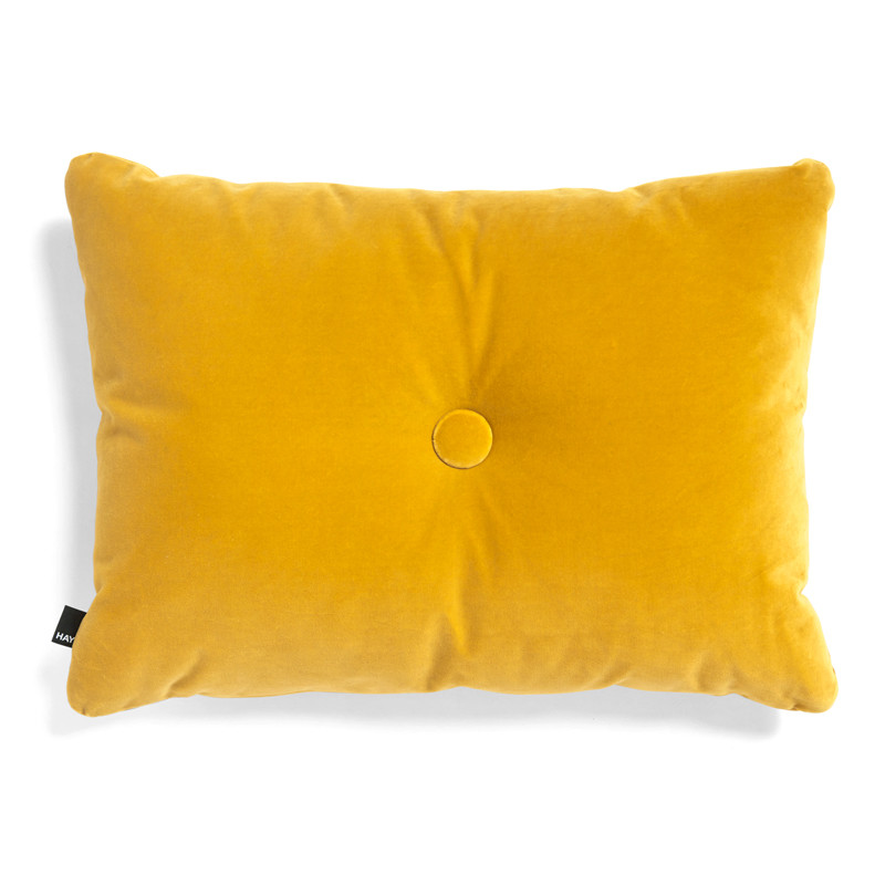 Image of   HAY Dot Cushion 1 Dot Soft Yellow