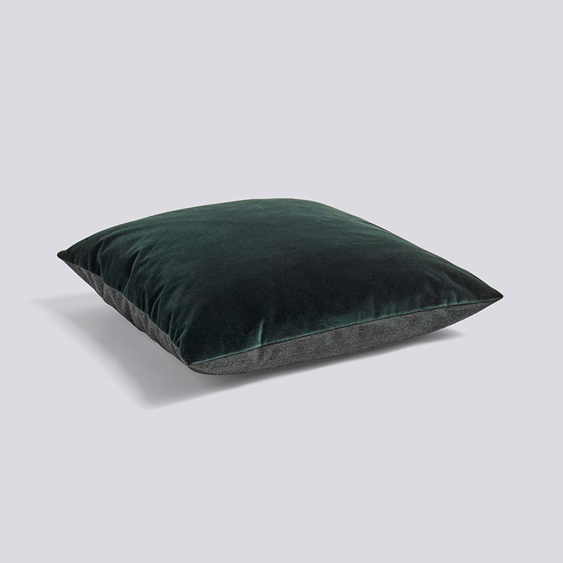 Image of   HAY Eclectic Cushion Dark Green