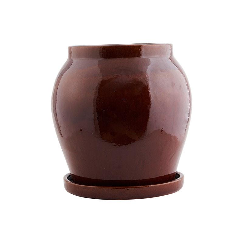 N/A House doctor antique urtepotte brun på livingshop