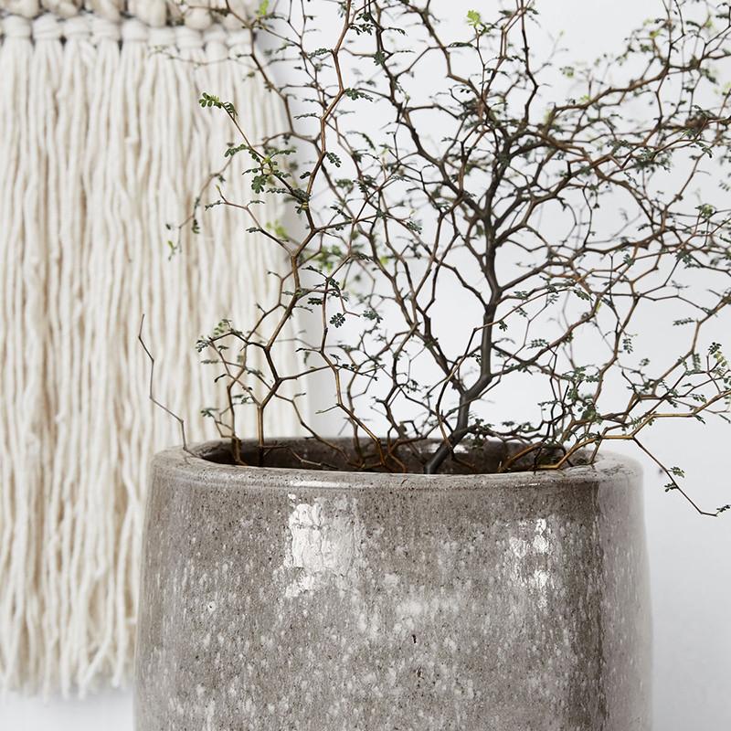 house doctor earth gr vase. Black Bedroom Furniture Sets. Home Design Ideas