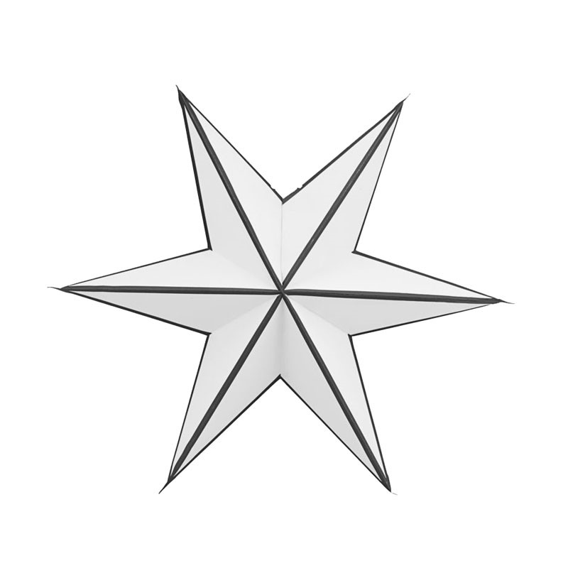 House Doctor 6 Point Stroke Stjerne