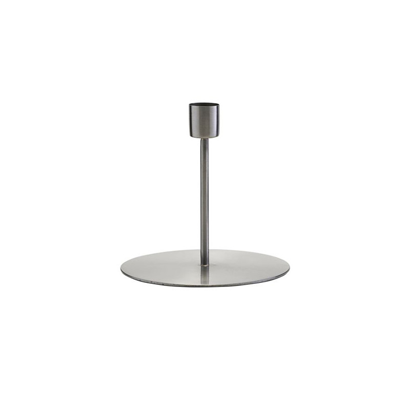 Image of   House Doctor Anit Iron Candle Stand H 12