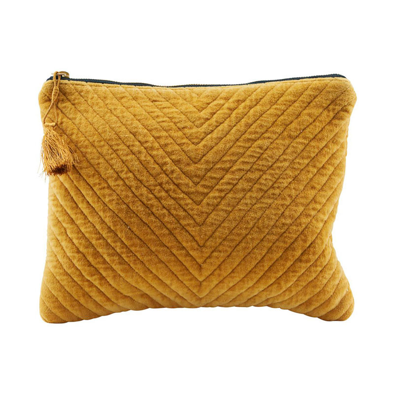 Image of   House Doctor Mila Pung Mustard 31 x 23 cm