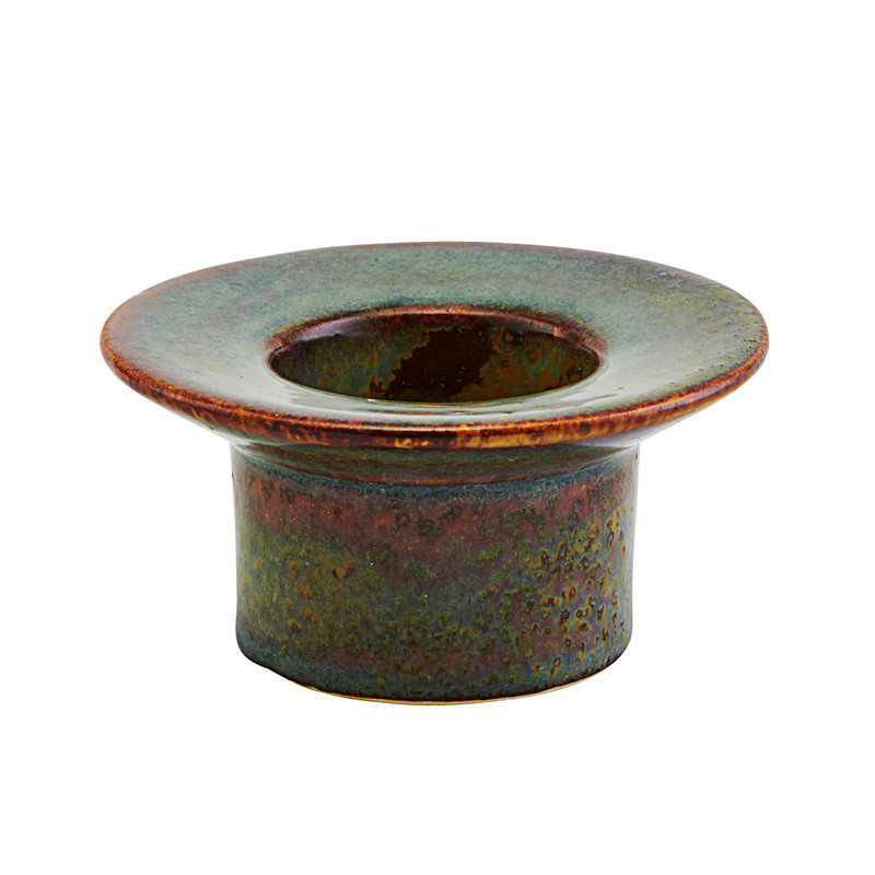 Image of   House Doctor Miro Candle Stand Roman Earth