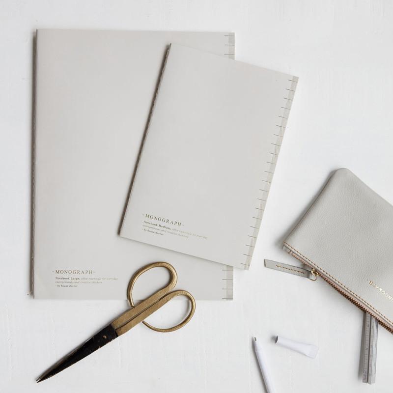 House doctor – House doctor monograph soft notesbog grå fra livingshop