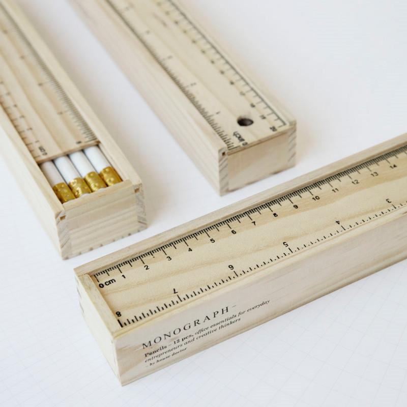 House doctor monograph blyanter hvid fra House doctor fra livingshop