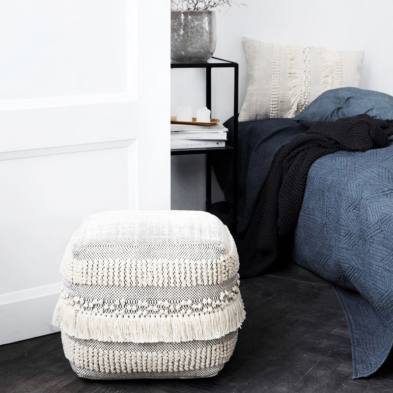 Image of   House Doctor Life Pouffe