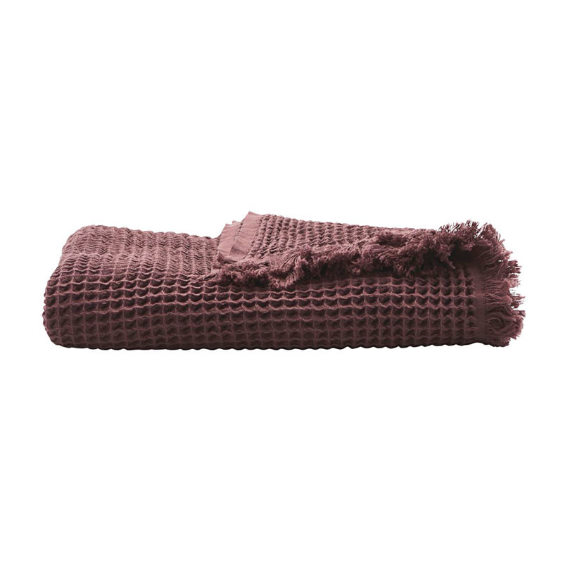 Image of   House Doctor Plaid Aubergine