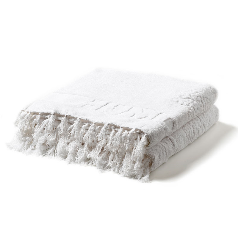 Image of   Humdakin Bath Towels 2-Pack White