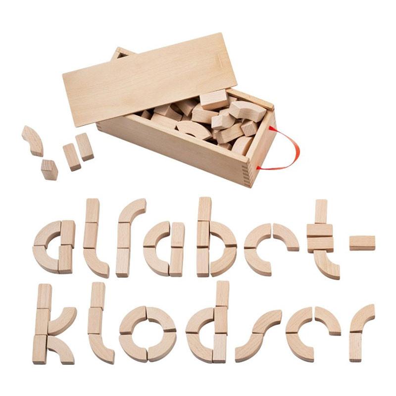Kay Bojesen Alfabetklodser