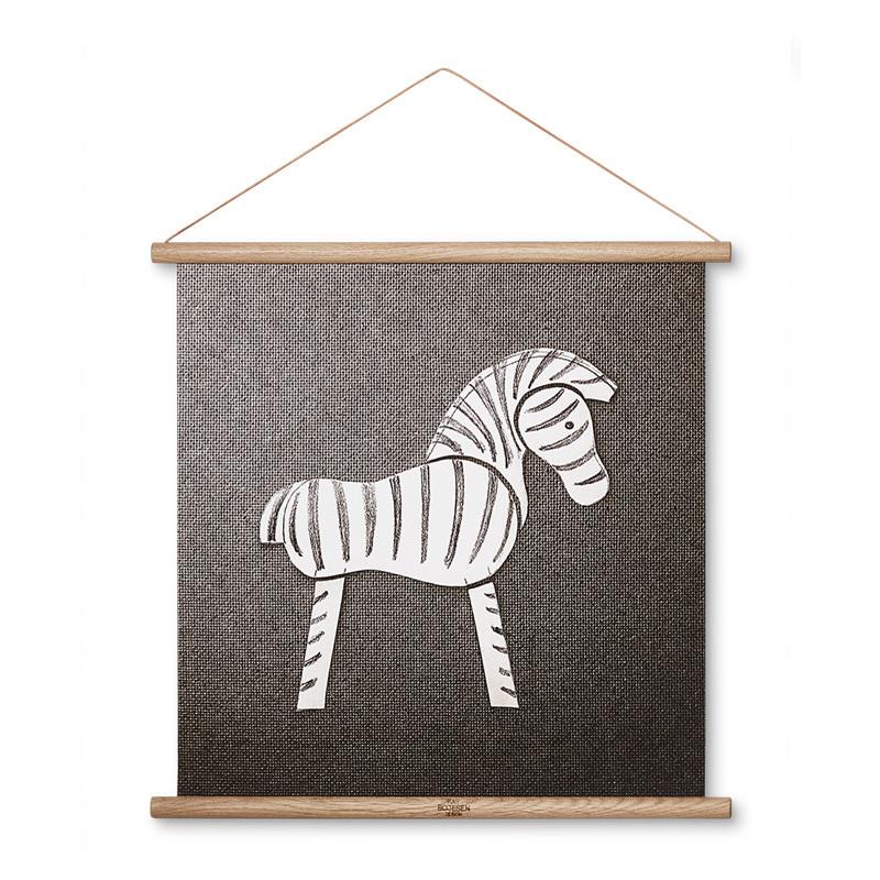 Kay bojesen – Kay bojesen zebra illustration 43 x 43 fra livingshop