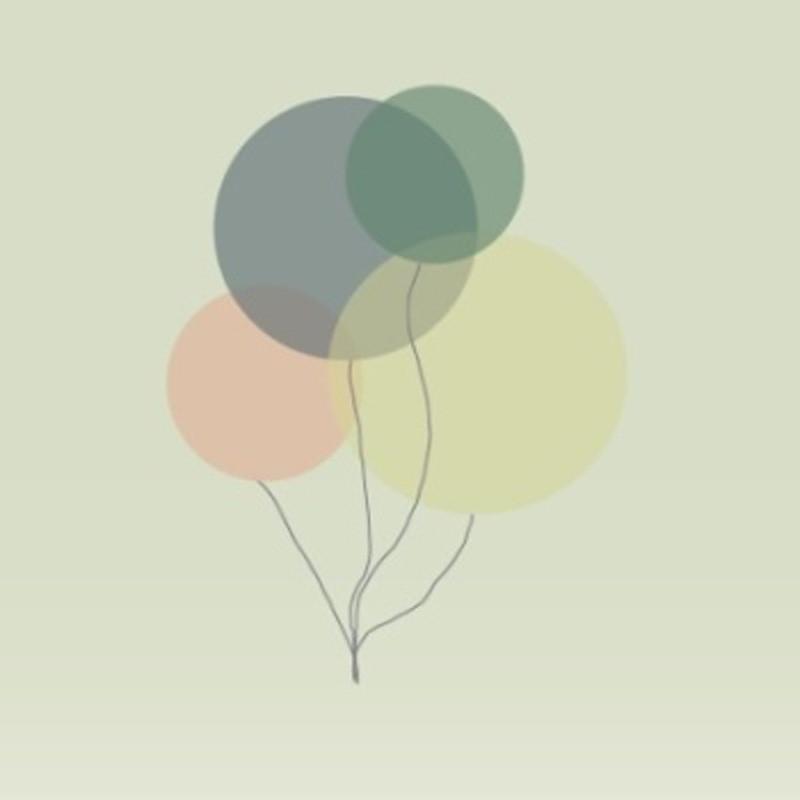 Image of   Kort & Plakat Ballon Dobbeltkort