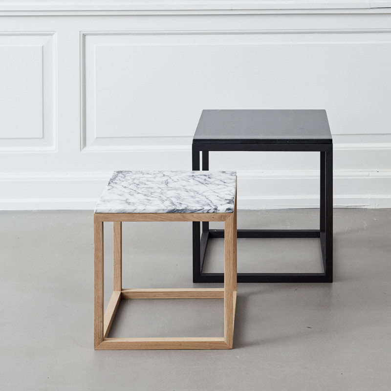 Image of   Kristina Dam Cube Table Marble