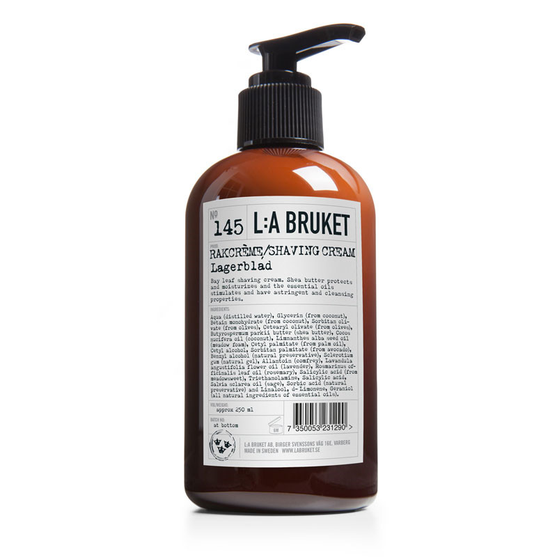 L:a bruket – L:a bruket shaving creme på livingshop