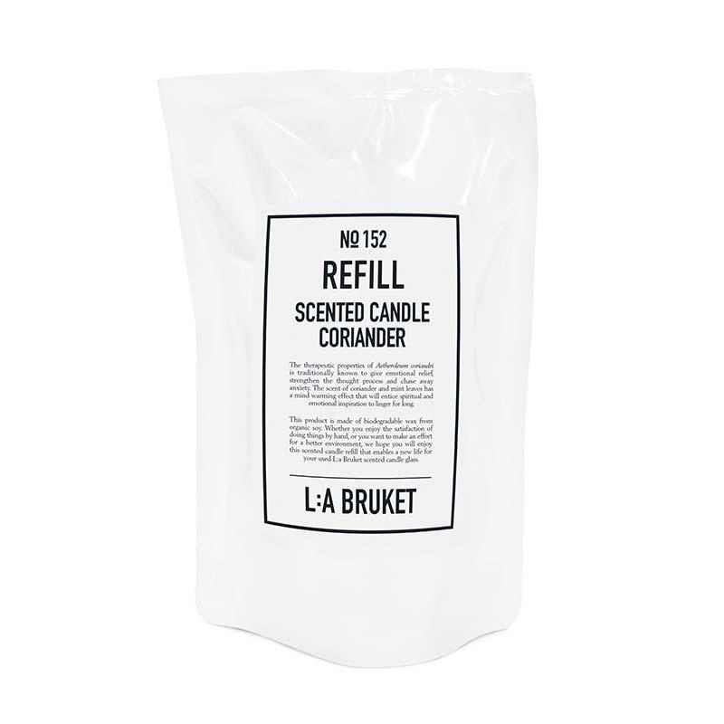 L:a bruket refill scented candle coriander