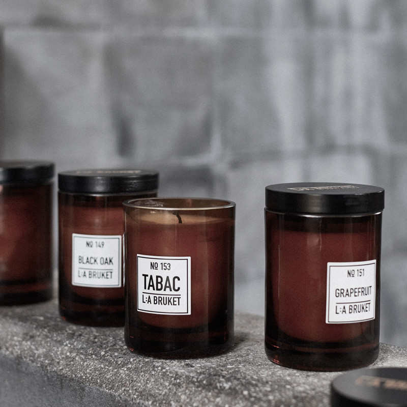 L:a bruket scented candle tabac