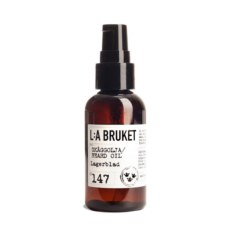 L:a bruket beard oil fra L:a bruket på livingshop