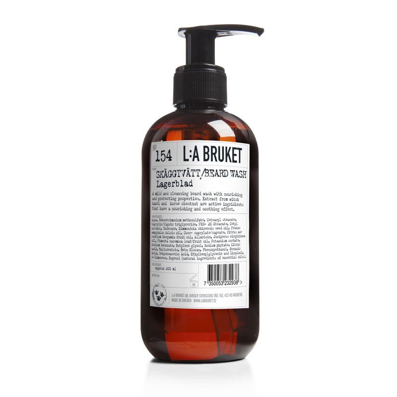 L:a bruket – L:a bruket beard wash fra livingshop