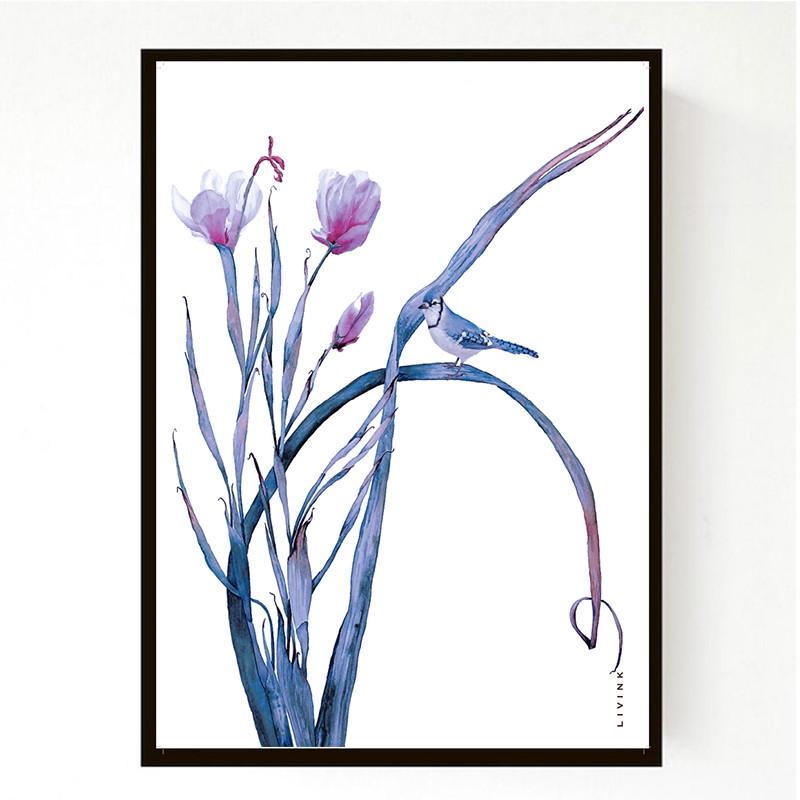 Image of   Livink Plakat Flora
